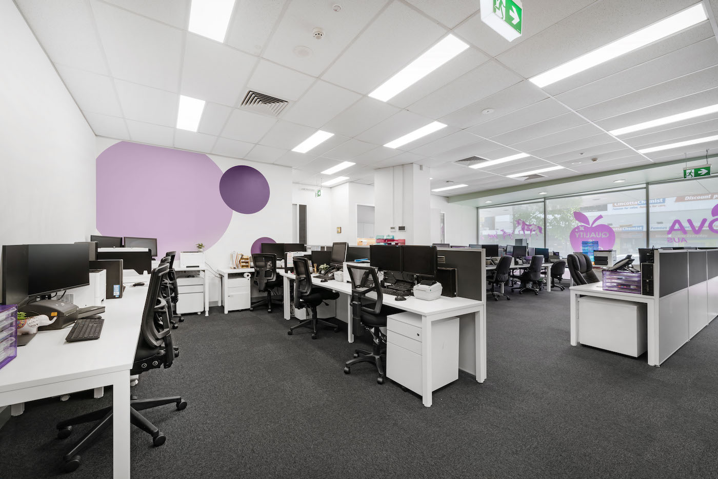 Workspace, workplace, fitout