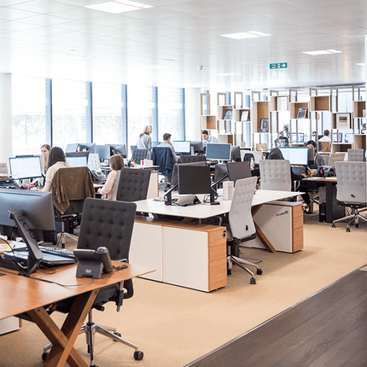 Commercial fit out - Workplace Density