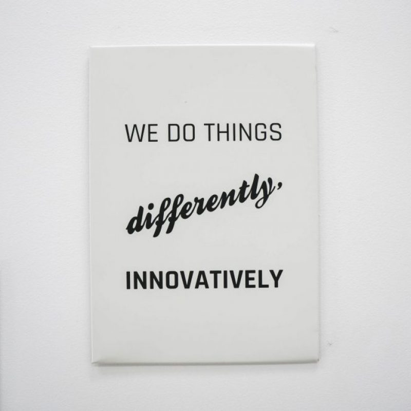 Decocorp, values, company values, innovate, create, be different