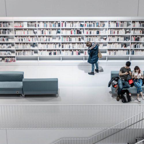 Educational spaces, schools, libraries